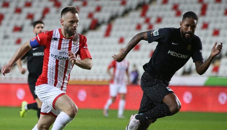 Antalyaspor ile Yeni Malatyaspor Puanları Paylaştı