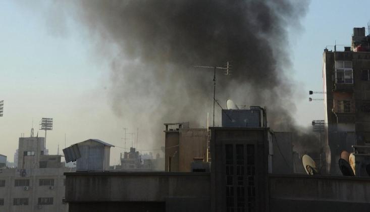 Şam'da Bir İHA Vuruldu