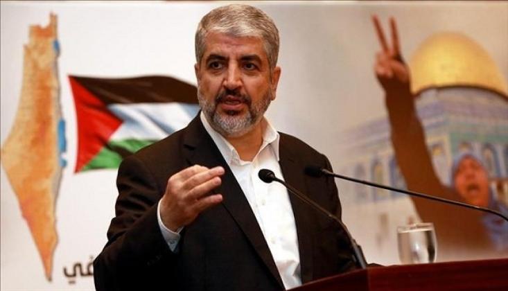Meşal'dan İran'a Teşekkür
