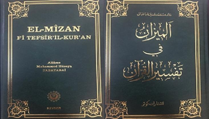 El Mizan Tefsirinin 14. Cildi Türkçe'ye Çevrildi