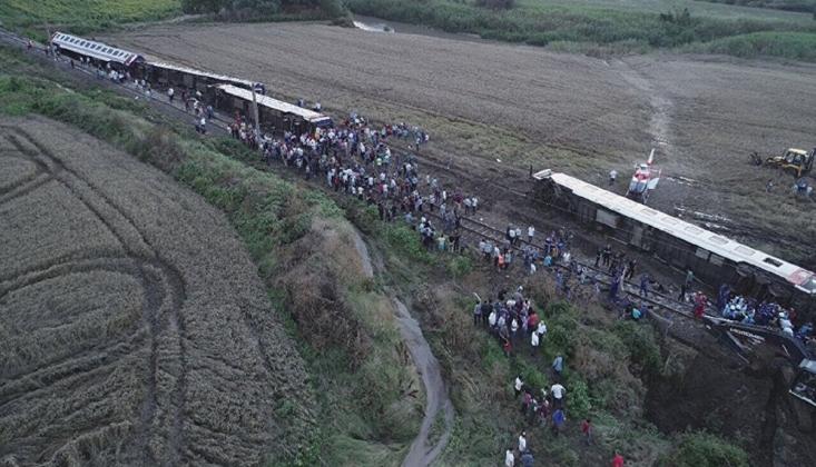 Bakanlık 416 Gün Sonra Çorlu Tren Kazası Raporunu Yayınladı