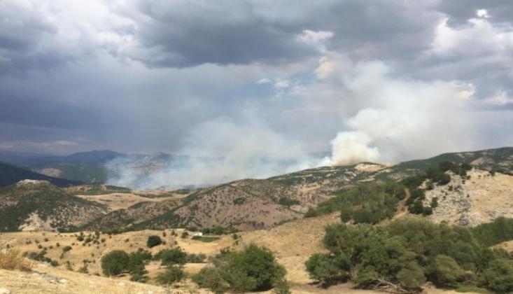 Dersim'de Çıkan Yangınlar Kontrol Altına Alındı