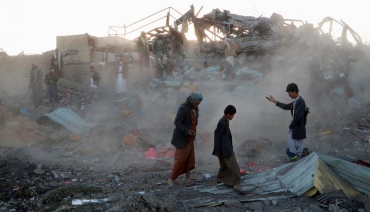 'Yemen'de 7 Bin 500'den Fazla Sivil Hayatını Kaybetti'