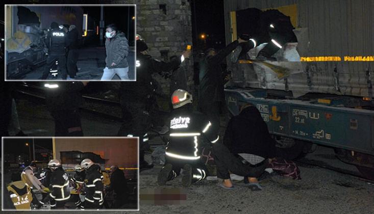 Gizlice Trene Binmek İsteyen 2 Suriyeli Ağır Yaralandı