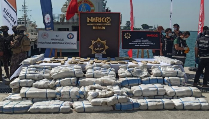 Akdeniz'de Uyuşturucu Operasyonu