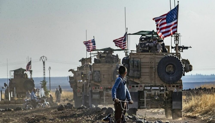 Haseke'de Siviller ABD Konvoyunun Geçişini Engelledi