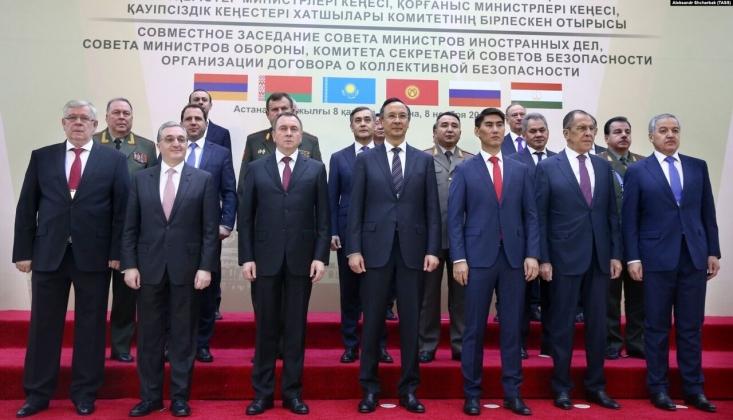 CSTO, Afganistan'daki Duruma İlişkin Bir Bildiri Kabul Etti