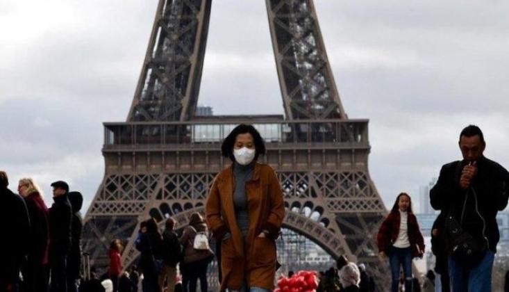 Fransa'da Son 24 Saatte 483 Kişi Yaşamını Yitirdi