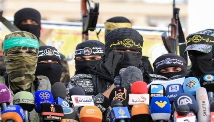 Filistinli Gruplar: Direniş ve İntifada İsrail'e Karşı Tek Caydırıcı Yoldur