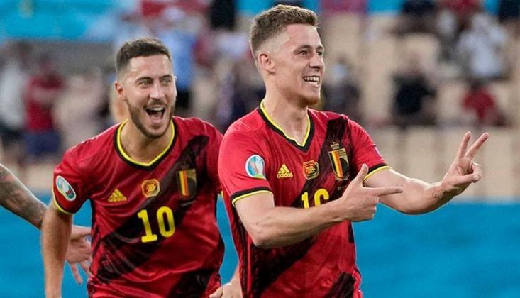 Thorgan'ın Füzesi, Belçika'ya Çeyrek Finali Getirdi!
