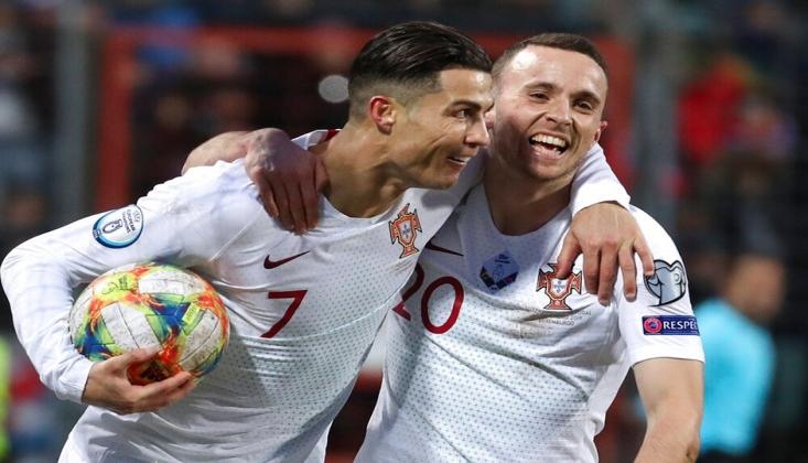 Portekiz EURO 2020 Biletini Kaptı