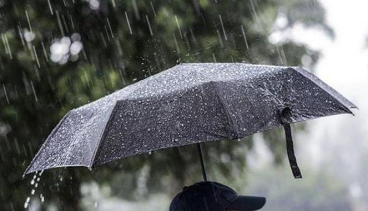 Metetoroloji'den Yağışlı Hava Uyarısı!