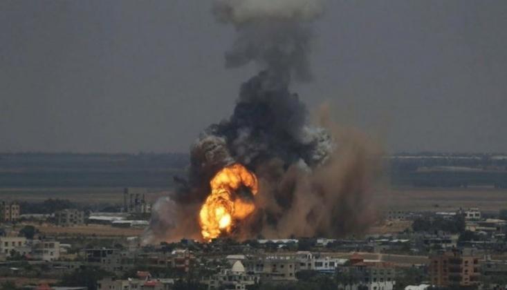 İşgal Rejimi, Gazze'yi Bombaladı