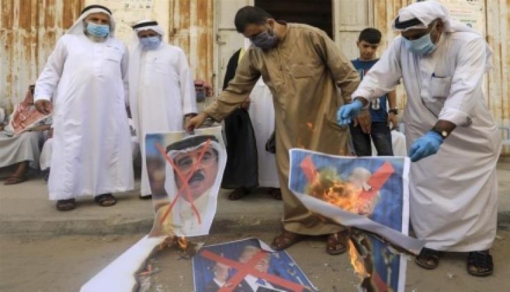 Gazze Halkı Siyonist Rejim ile Normalleşmeyi Protesto Etti / VİDEO