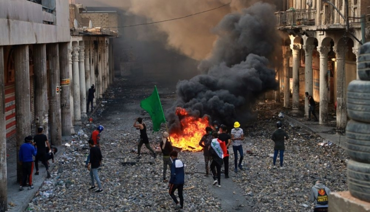 Irak İnsan Hakları Kurumu: Ekimden Bu Yana Gösterilerde Toplam 556 Kişi Öldü
