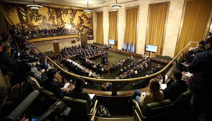 Suriye Anayasa Komitesi'nin Cenevre'deki Olağan Toplantısı Bildirisi
