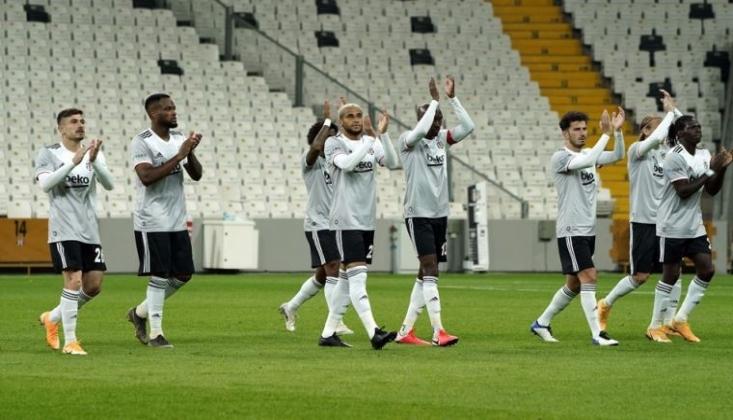 Beşiktaş'ın Gaziantep Kadrosu Belli Oldu