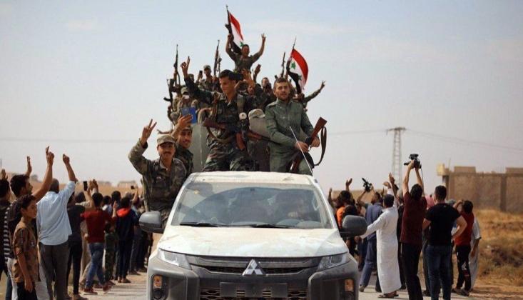 Suriye Ordusu Türkiye Sınırına Ulaştı