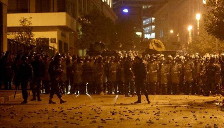 Lübnan'da Gösteriler Yeniden Başladı