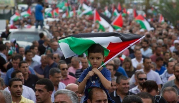 Filistin Halkı Komplolara Karşı Birlik İçindeler