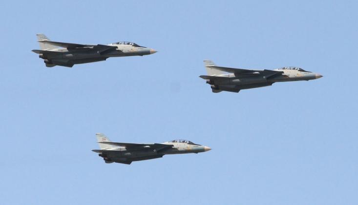 İran Savaş Uçaklarını Sınıra Sevk Etti