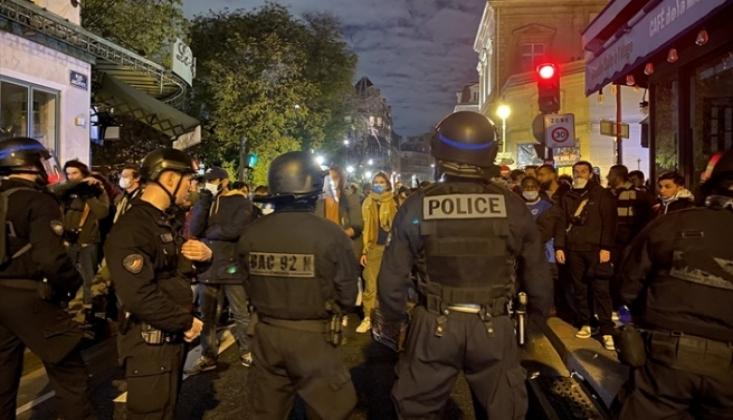 Fransız Polisi Kamplarını Dağıttığı Sığınmacıları Sokak Sokak Kovaladı