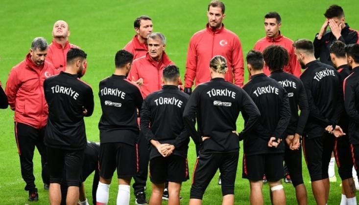A Milli Futbol Takımı Dev Maça Hazır!