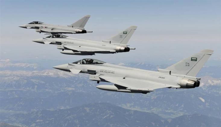Suud Savaş Uçakları Marib'i Vurdu