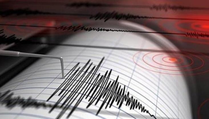 Akdeniz'de 5.2 Büyüklüğünde Deprem