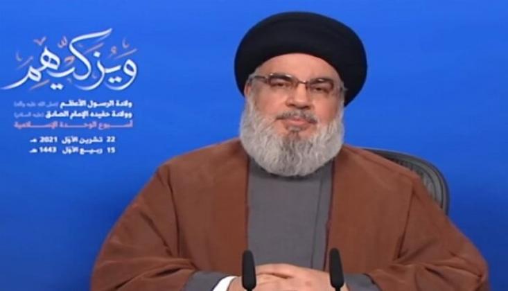 Nasrallah: İşgale ve İç Savaşa Hiçbir Şekilde İzin Vermeyeceğiz