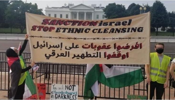 İşgal Rejiminin Anlaşması ve Washington'daki Protestolar
