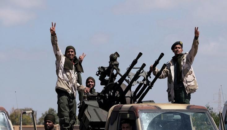 Hafter Komutasındaki Ordu: Trablus'un Kilit Bölgelerine Girdik