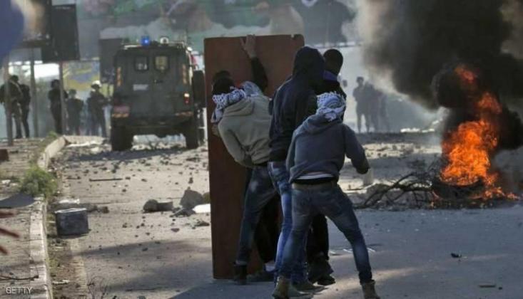 İşgal Güçleri Filistinlilere Saldırdı