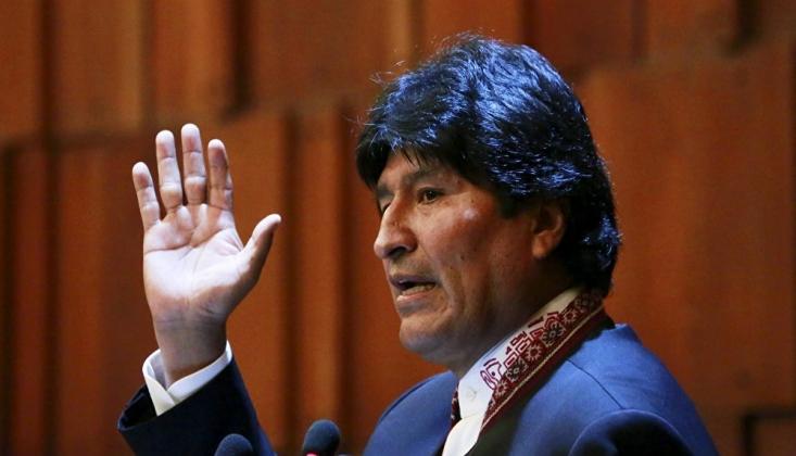 Suriye'den Morales'e Destek Mesajı
