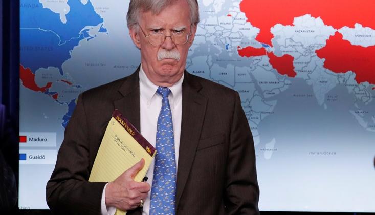 Bolton: INF'den Çıkmamızın Sebeplerinden Biri Çin