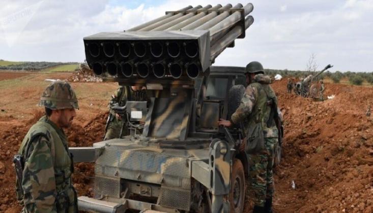 Suriye'de Teröristlere Ait İHA Düşürüldü