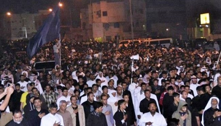 Arabistan Halkı Suud Rejimi Protesto Etti /VİDEO