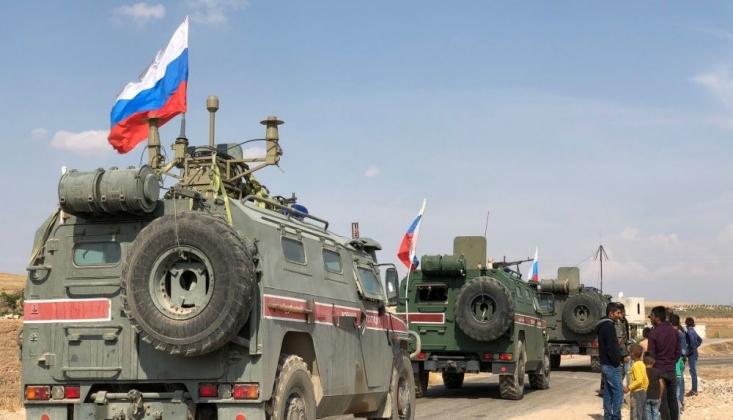 Rusya, Suriye'nin Kuzeyine Takviye Birlik ve Teçhizat Gönderdi