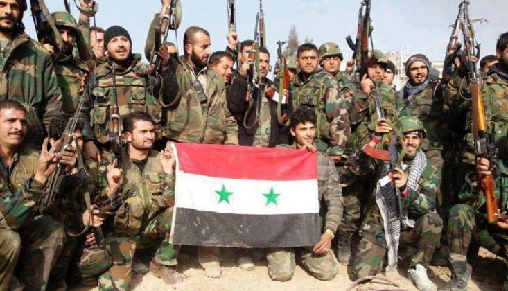 Suriye Ordusu Stratejik Bir Bölgeyi Kurtardı