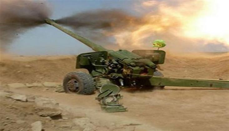 İran Ordusu, Terörist Gruplarının Mevzilerine Topçu Saldırısı Düzenledi