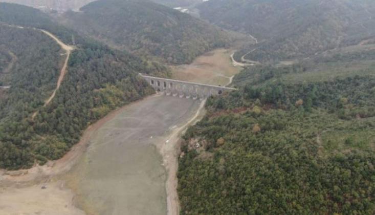 İstanbul'da Barajların Doluluk Oranı Son 5 Yılın En düşük Seviyesinde!