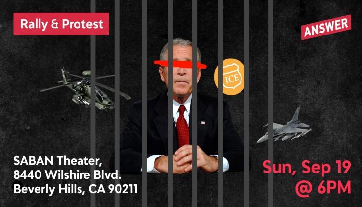 Bush'a Protesto: Iraklılardan Ne Zaman Özür Dileyeceksiniz?