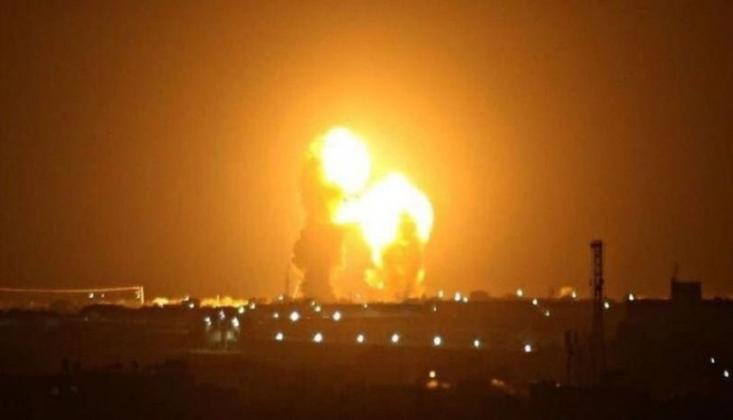 Güney Lübnan'dan Siyonist İsrail'e Füze Saldırısı