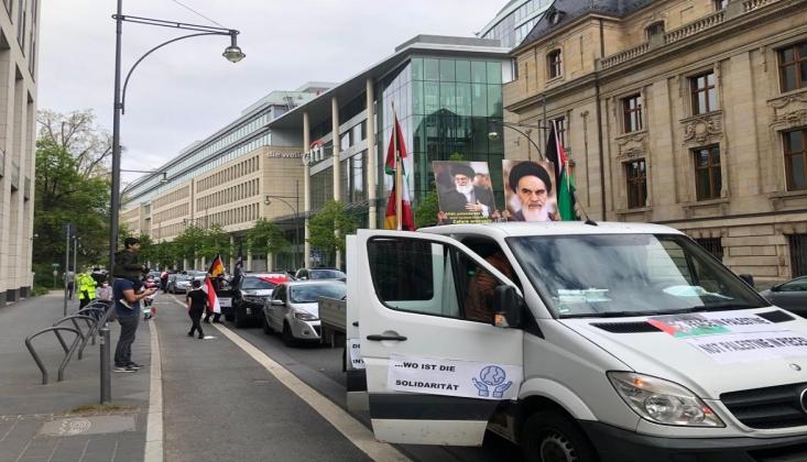 Almanya'da Dünya Kudüs Günü Mitingi +FOTO