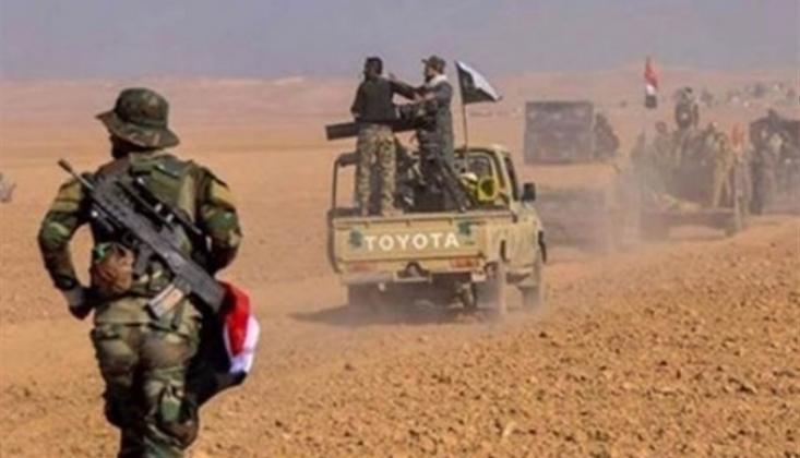 Irak'ta IŞİD'e Ait Merkezler Yok Edildi