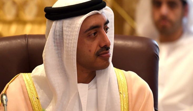 BAE Dışişleri Bakanı'ndan Filistin Davasına İhanet