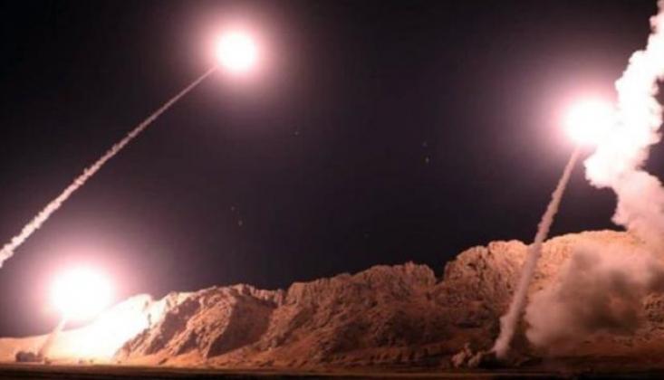 Bağdat'ta ABD Askeri Üssüne Roketli Saldırı