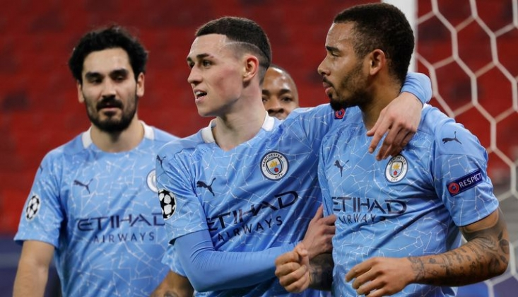 Manchester City, Gladbach'ı İki Golle Geçti