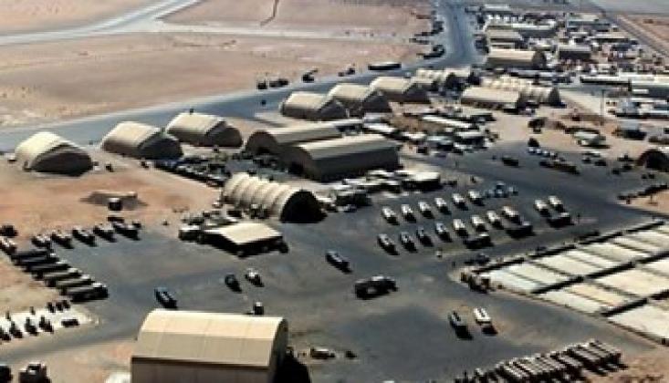 Irak'ta ABD'li Askerlerin Bulunduğu Üsse Roketli Saldırı