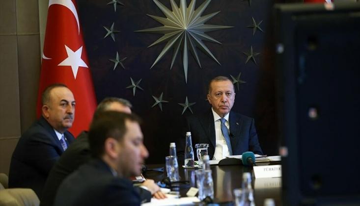 Erdoğan, G20 Liderler Olağanüstü Zirvesi'nde konuştu